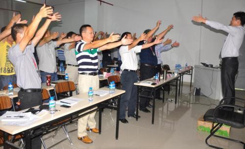 余伟辉/深圳通产丽星精益生产咨询项目启动